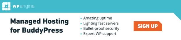 WP Engine Managed Hosting for BuddyPress