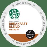 Starbucks Breakfast Blend Keurig® K-Cup® coffee