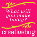 What will you make today? Creativebug