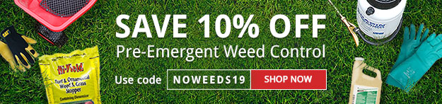 Save 10 on Pre Emergents