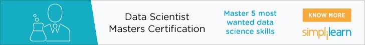 Data Scientist Masters Program