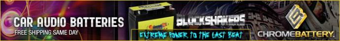 Block Shakers- Car Audio Batteries