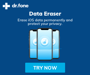 Dr Fone Erase iOS data permanently and protect your privacy