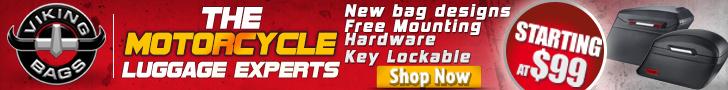 Slanted Leather Motorcycle Hard Saddlebags Sale
