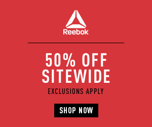 BLACK FRIDAY and CYBER MONDAY DEALS! Take 40% OFF Sitewide + 50% OFF SALE at Reebok #BlackFriday #CyberMonday #Sale #Deal #Shopping #Reebok #Athletic #Shoes #Apparel #BeMoreHuman