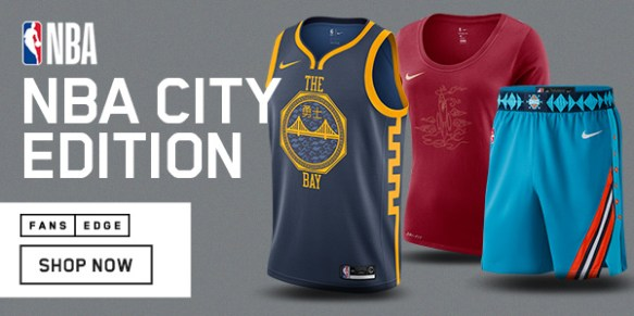 NBA City Edition Gear