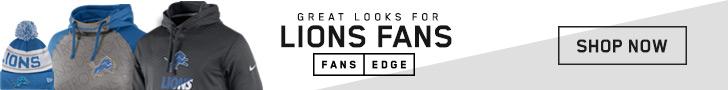 Shop Detroit Lions gear at FansEdge!