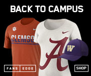 Arrive in style at your tailgate in new 2016 College Fan Gear from FansEdge.com