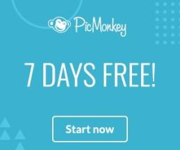 Get a 7-day Free Trial of PicMonkey