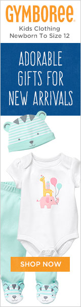 Adorable Gifts for New Arrivals at Gymboree!