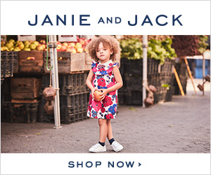 Janie and Jack Sale on Now