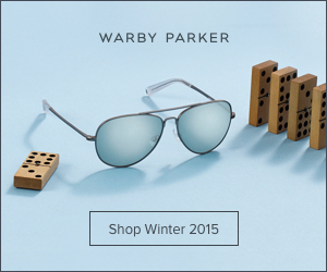 Warby Parker Winter 2015 Collection