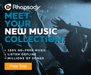 Rhapsody.com - 3 Months for $1!