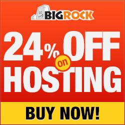 24% off on Web Hosting