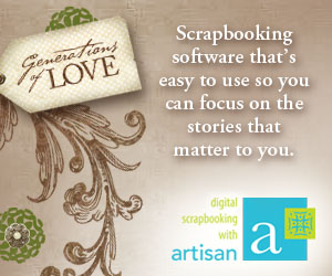 Panstoria Artisan digital scrapbooking software