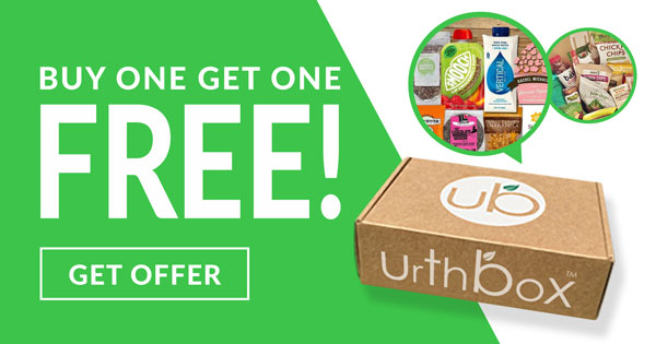 Buy one get one free at UrthBox