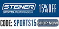 15% Off at SteinerSport.com. Code: SPORTS15