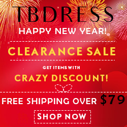 TBdress Halloween Week:17% Off Over $99,code:hallow17.Shop Now!Date:2018/10/24-2018/10/31