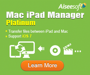 Versatile Mac iPad Manager - transfer iPad files to and from Mac, convert DVD/video to iPad