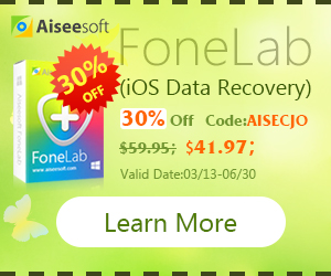 Fonelab(iPhone Data Recovery) 30% Off