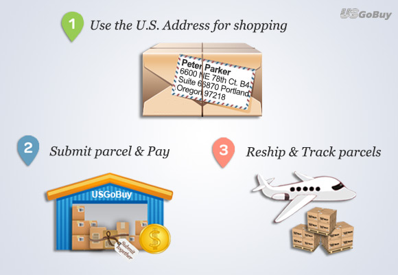 US address for your online shopping