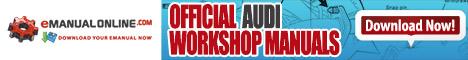 Official Audi Workshop Manuals