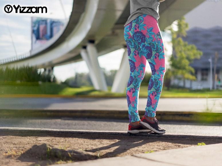 yizzam women's all over print leggings
