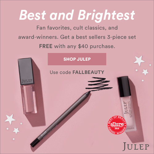 Julep November 2018 | Best and Brightest 3-piece Best Sellers set FREE w/ $40 purchase
