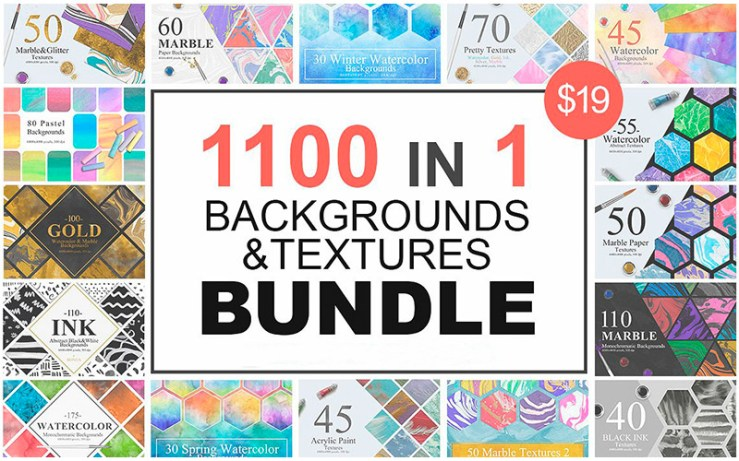 1100-In-1 Backgrounds Bundle