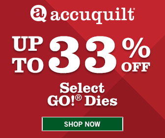 Accuquilt July 2016