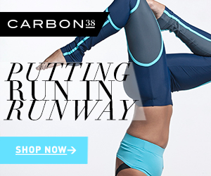 Carbon38 helps you put the Run in Runway