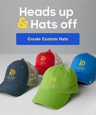 Design custom hats at Custom Ink.