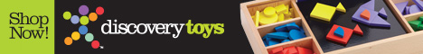 Discovery Toys - Vertical Banner