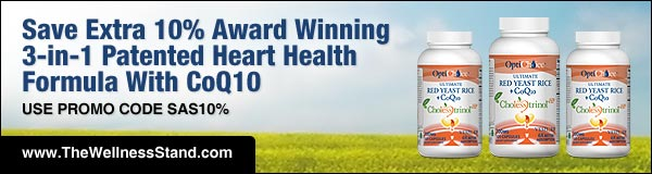 Save extra 10% on Award Winning 3-in-1 Patented Heart Health Formula