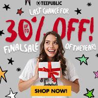 TeePublic Sale!  Every Single Tee $14.00!