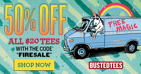 Busted Tees Spoopy Tees Sale!