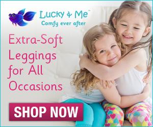 Girls Legging Lucky & Me