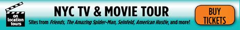 New York TV & Movie Tours