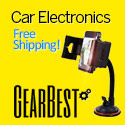 Get Free Shipping on Car Electronics at GearBest.com! Customize and Personalize Your Car!