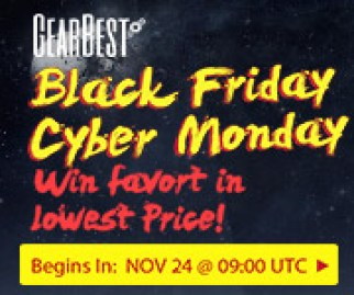 Win your favorite products at the lowest price, enjoy up to 80% off and extra 2% off via PayPal @GearBest Black Friday! Starts on Nov 21, 9:00 UTC.
