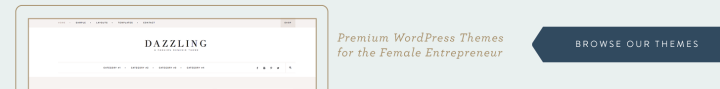 Feminine WordPress Themes using the Genesis Framework by Restored 316