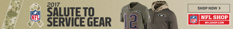 Honor our Heroes in 2016 NFL Salute to Service Gear from Nike and New Era