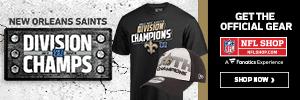 Shop for New Orleans Saints Division Champs Gear at NFLShop.com