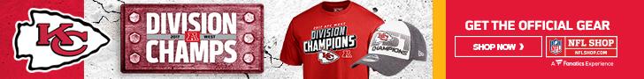 Shop for Kansas City Chiefs Division Champs Gear at NFLShop.com
