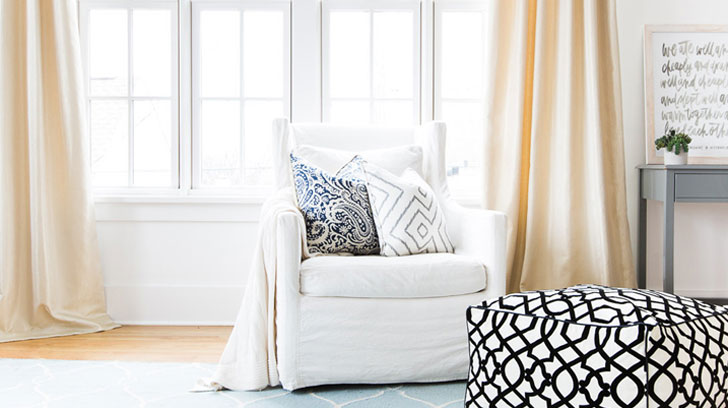 Shop custom designer window treatments, bedding, accessories and more at Loom Decor!