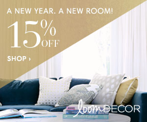 15% Off Custom Window Treatments & Furnishings at Loom Decor