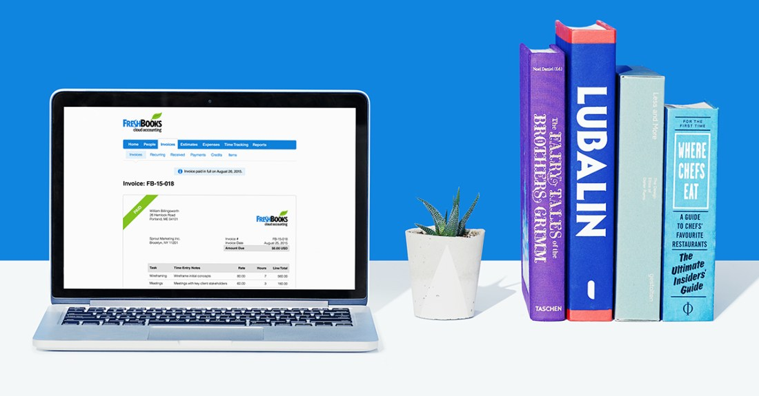 Improve your routine with FreshBooks