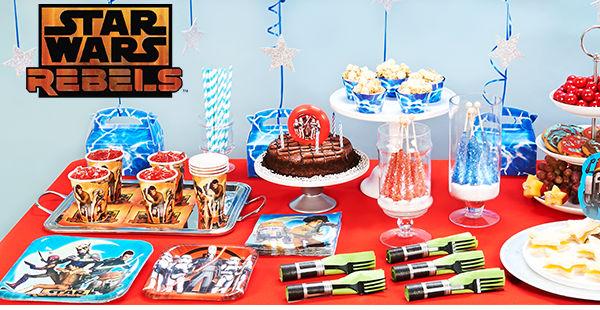 Star Wars Rebels Party supplies at Birthday Express