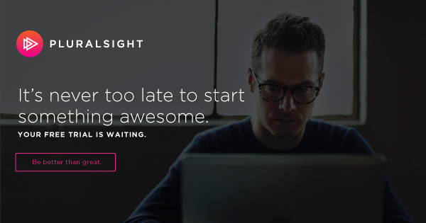 Pluralsight Free Trial- Learn Coding Online Free