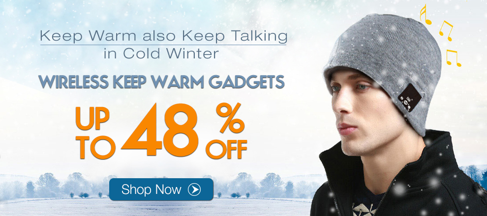 Smart Wireless Talking & Music Warm Hat